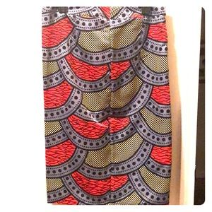 Dresses & Skirts - Multicolor African Pattern Skirt